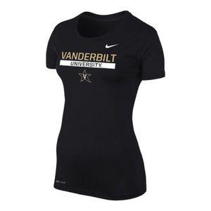 Vanderbilt University Nike Dri-Fit Shirt